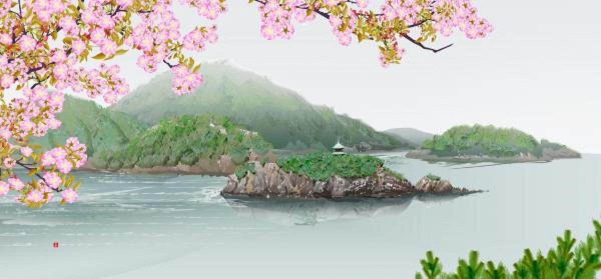 76歳のおじいさんがパソコンのある機能で描く風景画がヤバすぎる!